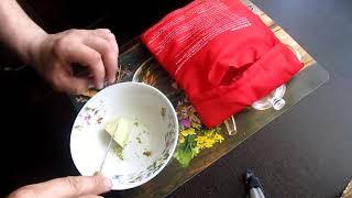 Мешочек для запекания картофеля и кукурузы  Рецепт для микроволновки
