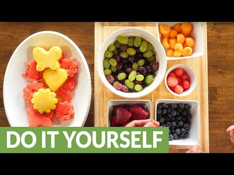 Make your own homemade edible arrangement