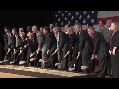 Solar Ground Breaking Navy Construction Battalion - Gulfport