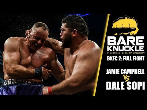 BKFC 2 Full Fight: Pro Boxer vs. Mixed Martial Artist | Campbell vs. Sopi