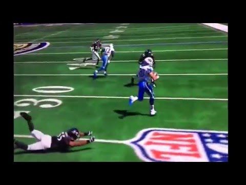 Best RB in NFL History (Sweetness Jr) Madden 15 Gamplay highlights