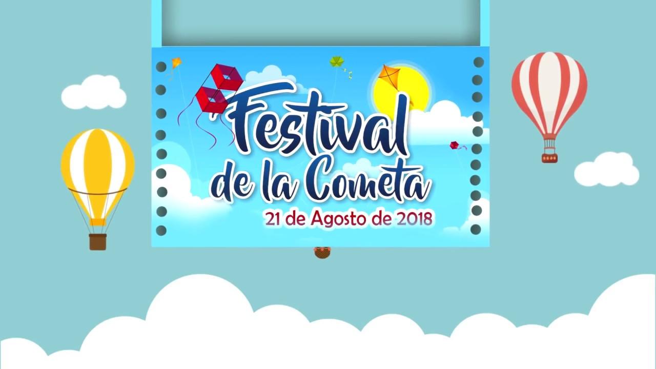 Invitación Para El Festival De La Cometa En Santo Domingo