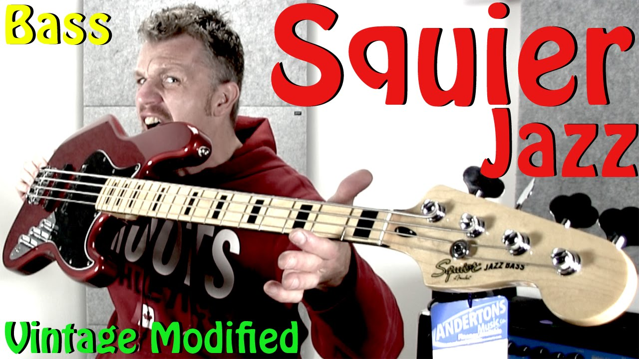 Squier Vintage Modified 70s Jazz Bass Review Sweet Youtube 3 Way Switch