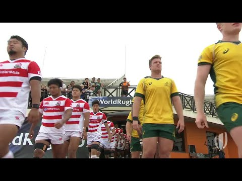 World Rugby U20 Highlights: Australia V Japan