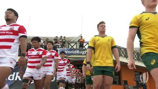 World Rugby U20 Highlights: Australia v Japan