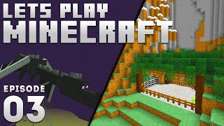 iJevin Plays Minecraft - Ep. 3:  NEW BASE & DRAGON FIGHT! (1.16 Minecraft Let's Play)