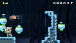 Super Mario Maker - Clown Car Chaos! (Direct Feed Gameplay - E3 2015)