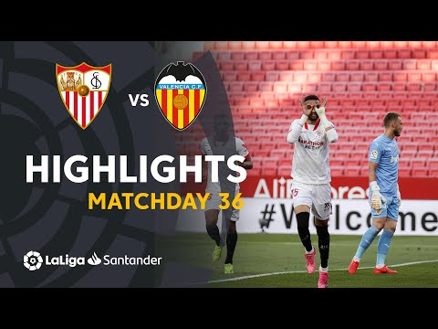 Sevilla Valencia Goals And Highlights