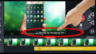 How to Add scrolling text on video using KineMaster [By AndroidTips Bangla]