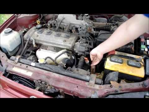 Fixing an overheat condition (the radiator fan) on a 1997 Toyota Corolla/Geo Prizm