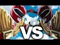 Red Ranger (Dragon Shield) VS Clone Red Ranger