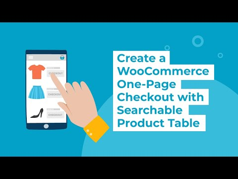 Best WooCommerce One Page Checkout Plugin | Woo Product Table