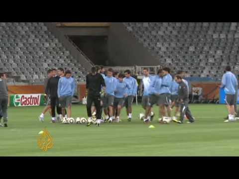 Uruguay and South Korea prepare for clash