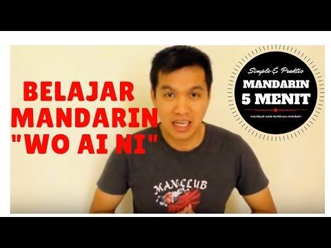 Belajar Bahasa Mandarin - Mandarin 5 Menit - Ungkapan Cinta (Wo Ai Ni - 1)