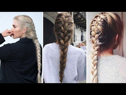 How To: Basic French Braid |  Hairstyle / Saç Modeli