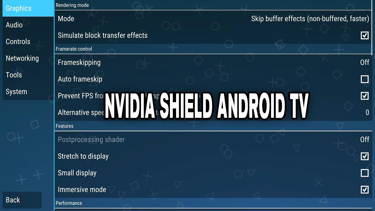 Which Build To Use With Nvidia Shield