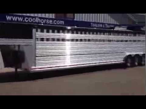 Custom 2013 36' Platinum Bull Trailer built for PBR Bull Rider L.J. Jenkins