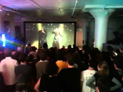 Show de Madonna chez Moment Factory Super Bowl XLVI