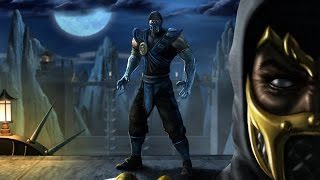 Sub-Zero and Scorpion - Shinobi Vs Dragon Ninja