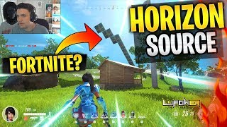 NUEVO BATTLE ROYALE GRATIS - FORTNITE COPIA? (HORIZON SOURCE GAMEPLAY)