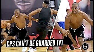 Chris Paul Goes 1v1 vs NBA Pros at His Camp!! Terrence Clark & Zion Harmon IMPRESS CP3!!