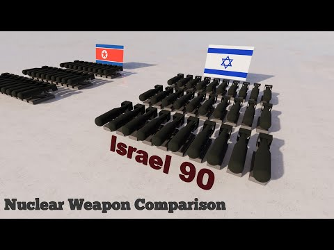 Nuclear Weapon Comparison - The Countries With Nuclear Weapons 3D