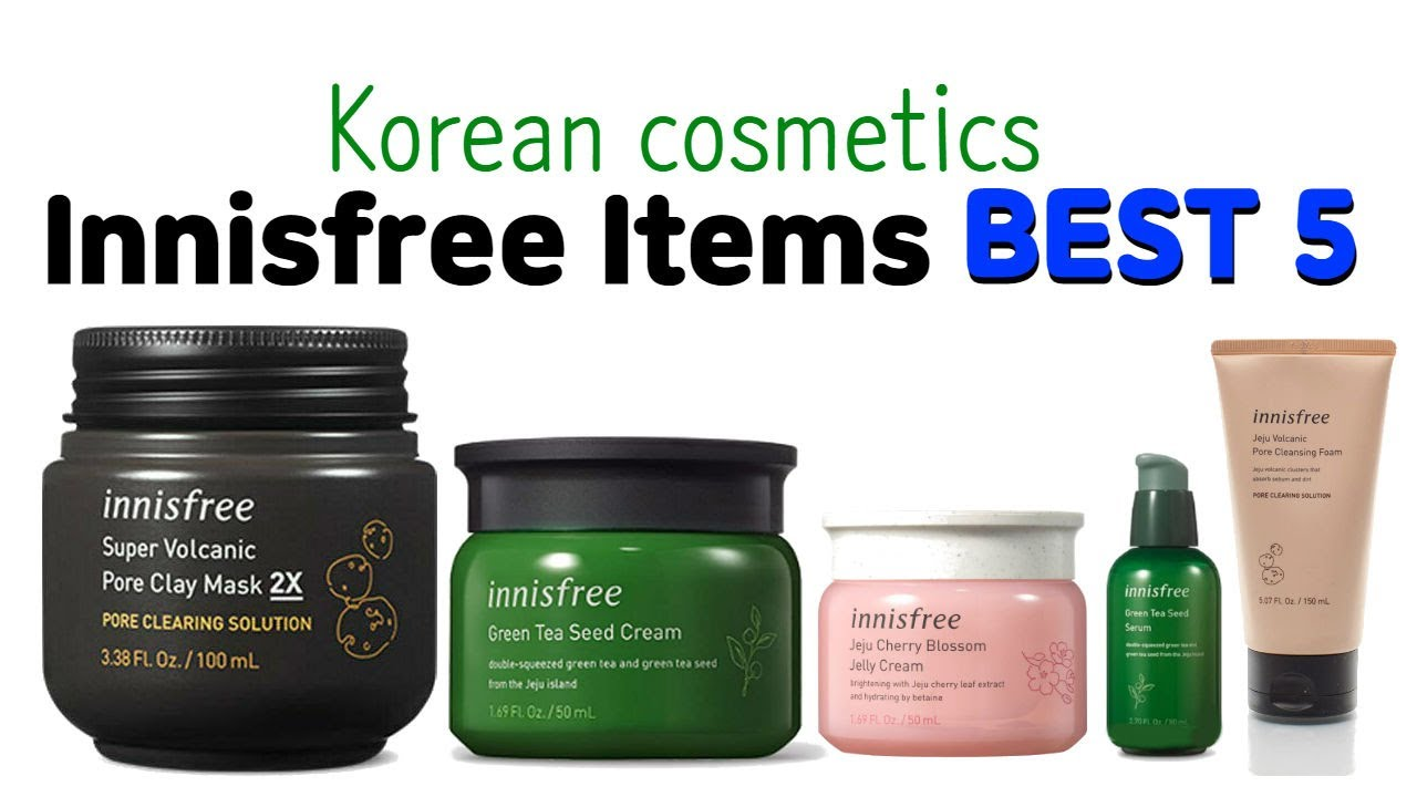In 2020 INNISFREE Best 5 Items [Price, Performance, Quality]