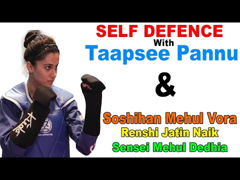 Self Defence with TAAPSEE PANNU