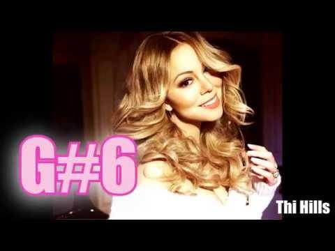 Mariah Carey ACAPELLA Vocal Range in 1 Minute (F2 - B7)