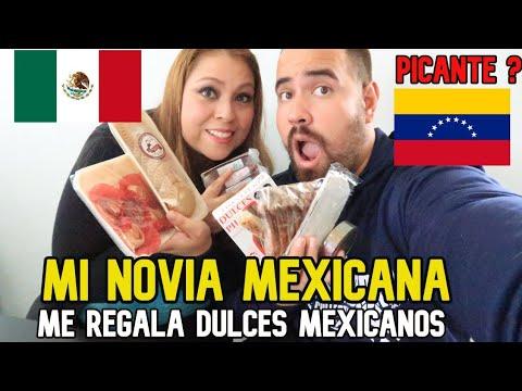 MI NOVIA MEXICANA me REGALA DULCES TRADICIONALES de PUEBLA ¿MEXICO? 🥵🇲🇽