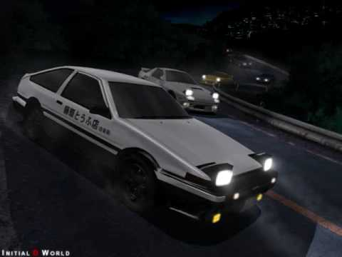 Drop Logic-Initialize  1st Initial D English Theme Song