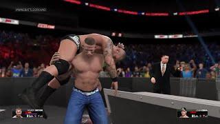 WWE 2K15 John Cena vs Randy Orton For WWE Champion (2015 (PS4)  HD
