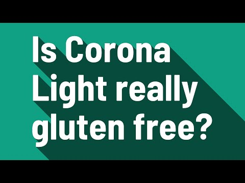 Is Corona Light really gluten free?