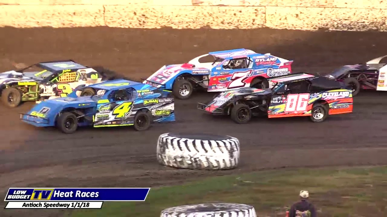 Heat Races Antioch Speedway New Years YouTube - Antioch ca car show 2018