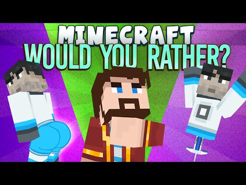 Minecraft Minigames - Would You Rather? - Games With Sips