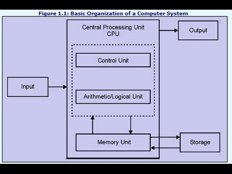 Basic Architecture of a computer