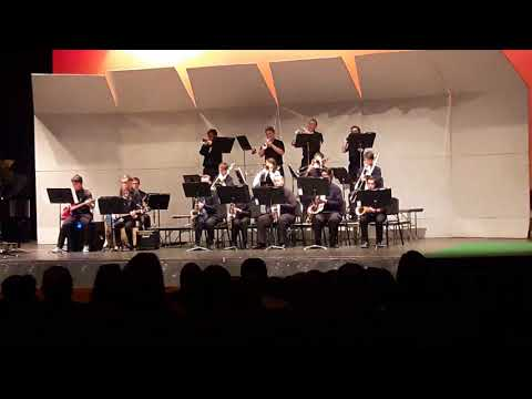 September - Cyprus High School Jazz Band 2017-2018