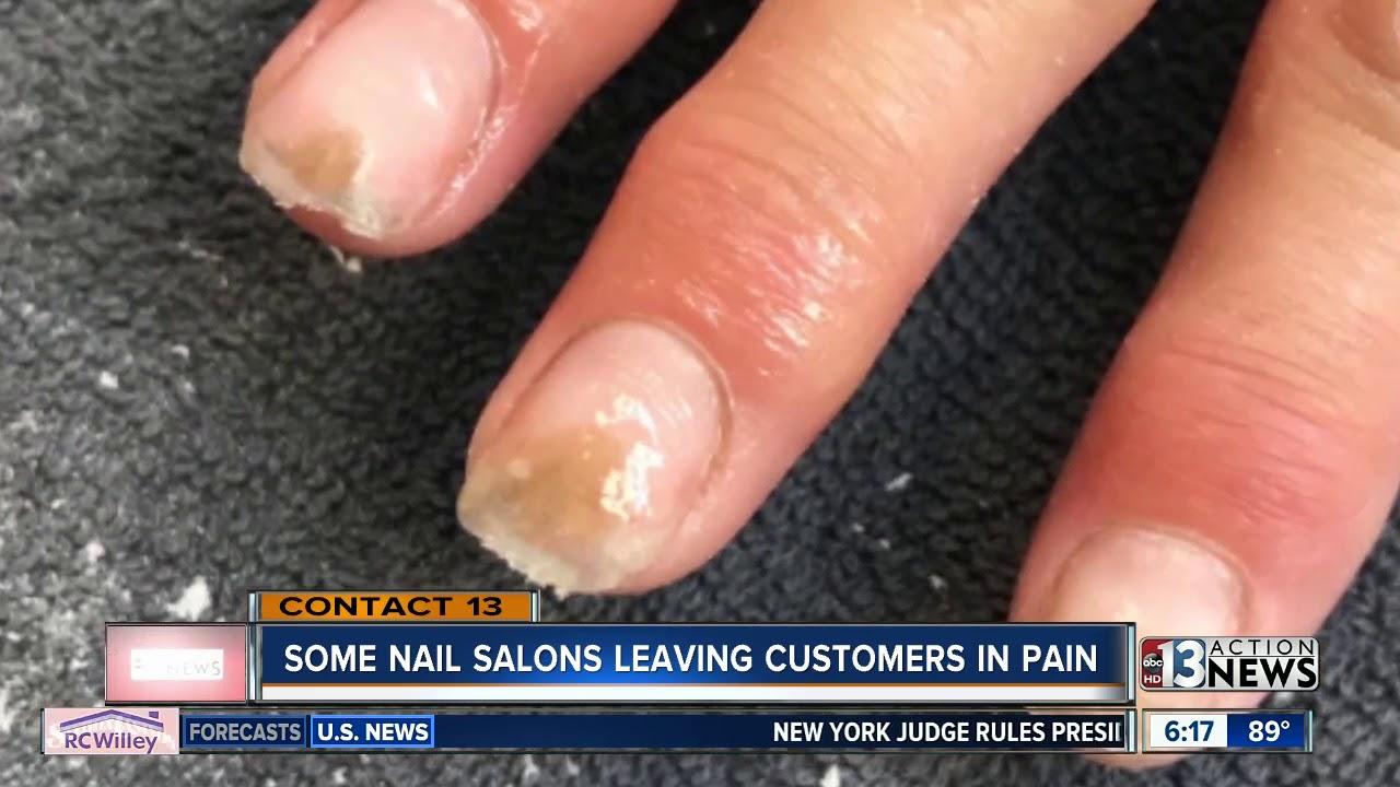 Nail salons using industrial-grade liquid monomer, putting customers at risk