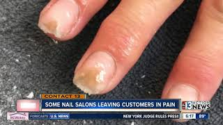 Nail salons using industrial-grade liquid monomer, putting customers at risk