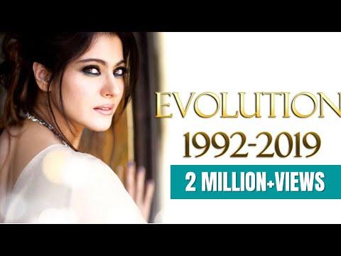 Kajol Evolution  (1992-2019)