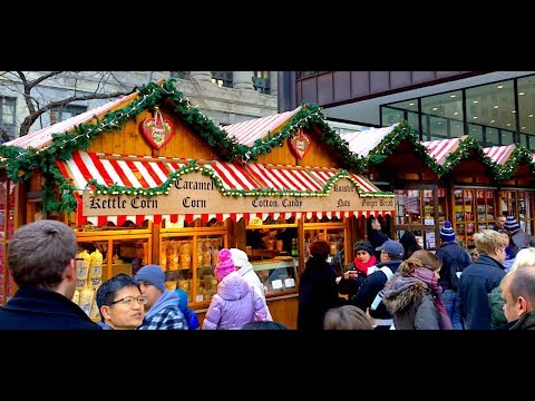 CHRISTKINDLMARKET IS BACK - A Chicago Holiday Tradition
