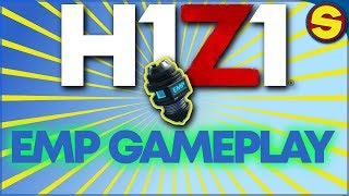 🔴 NEW H1Z1 PLAYSTATION 4! NEW ITEM! EMP GAMEPLAY!  🔴
