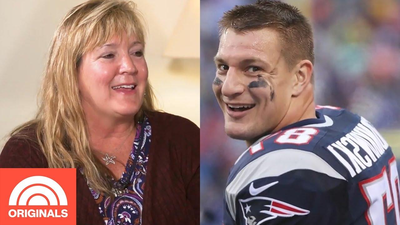 Rob Gronkowski's Mom Talks Rob's Retirement And Tom Brady | Through Mom's  Eyes | TODAY Originals