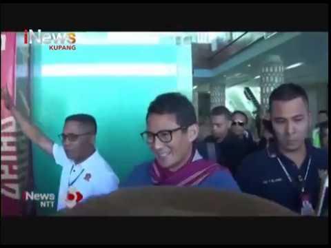 iNews NTT - Rombongan Sandiaga Uno Dimarahi Pedagang Ikan di Labuan Bajo