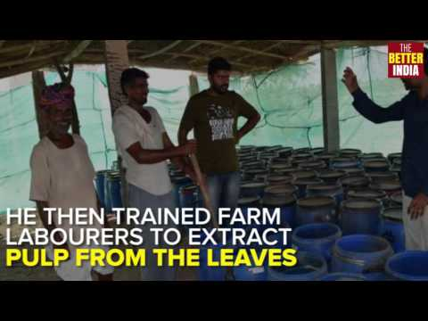 Engineer turns farmer; runs profitable business