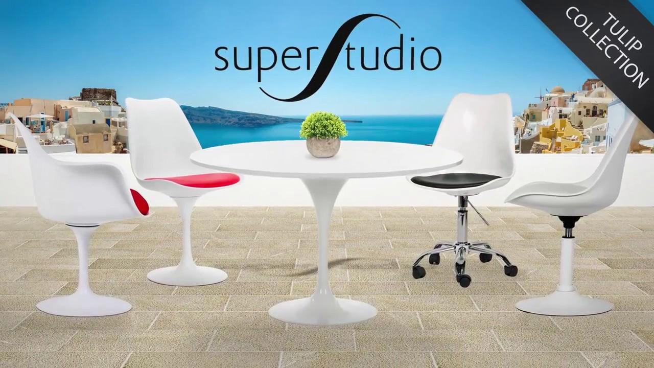 collection tulip les meilleurs design du xxe si cle youtube. Black Bedroom Furniture Sets. Home Design Ideas