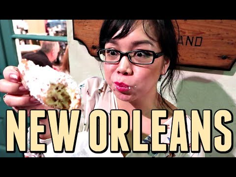 FIRST TIME IN NEW ORLEANS! Search for THE BEST BEIGNETS! - November 05, 2017 - ItsJudysLife Vlogs