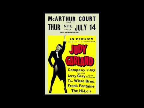 JUDY GARLAND RARE LATE NIGHT RADIO INTERVIEW 1955