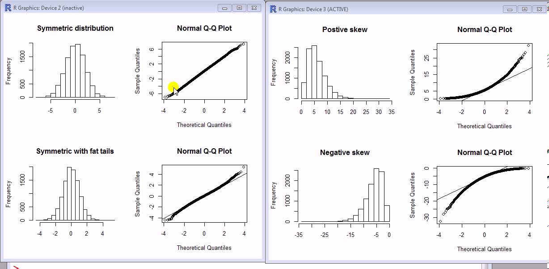 Interpreting the normal QQ-plot - YouTube