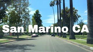 🔴 San Marino Realtor Driving Tour 4K